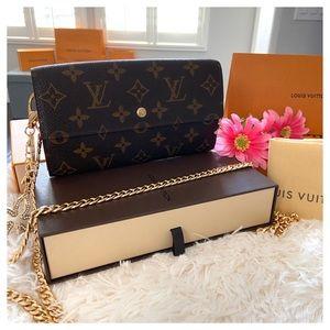 🌟Louis Vuitton Large Wallet Small Crossbody Bag🌟